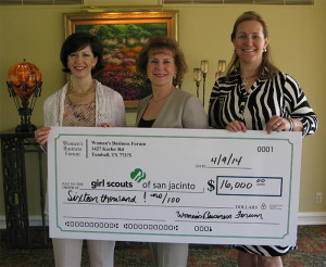 WBF Donation Girl Scouts